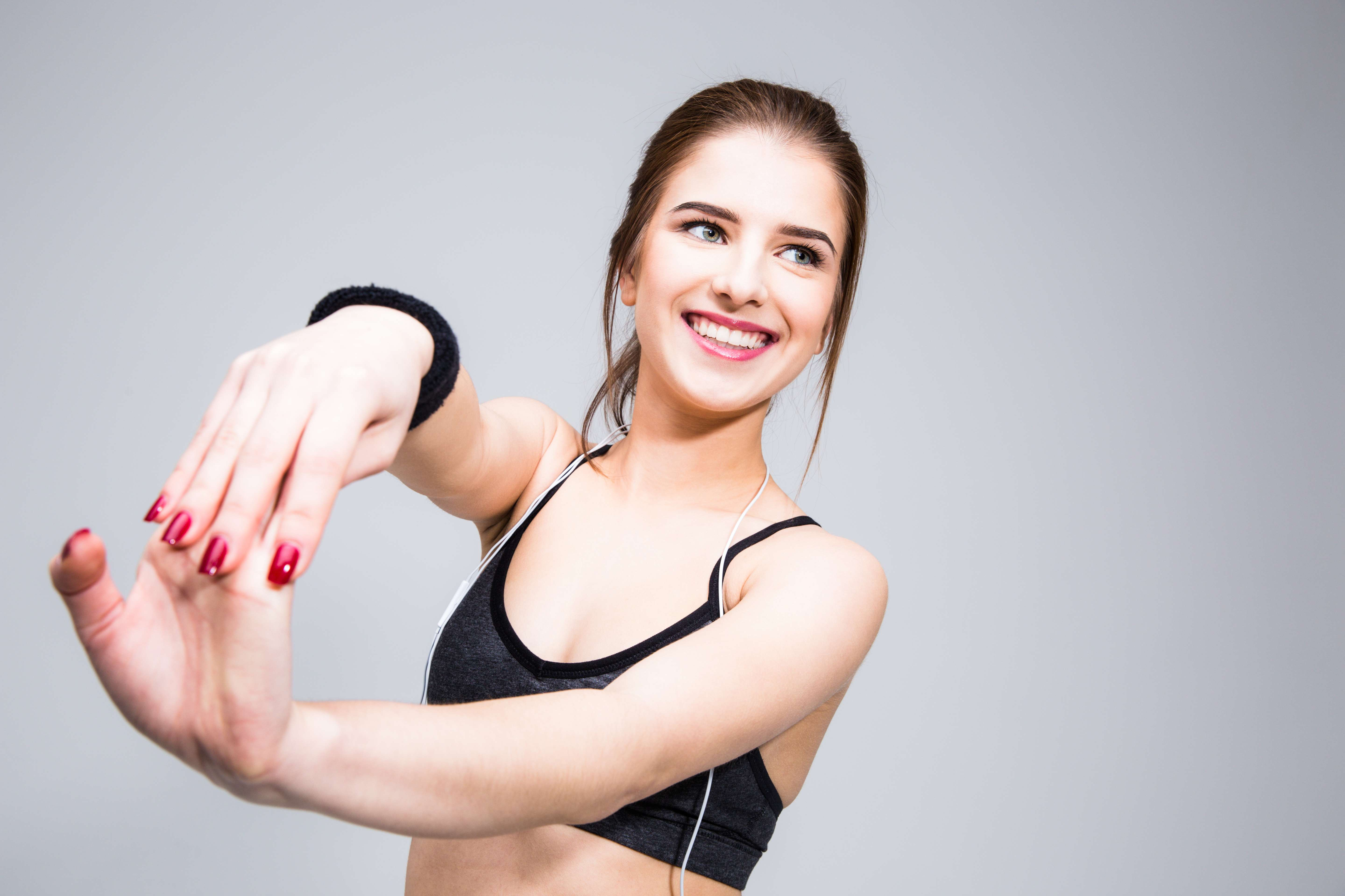 Stretching Biceps Muscle